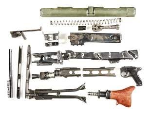 MG-42 MACHINE GUN PARTS KIT WITH TASTEFULLY CUT