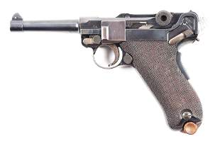 (C) DWM M.11 DUTCH EAST INDIES ARMY CONTRACT LUGER.