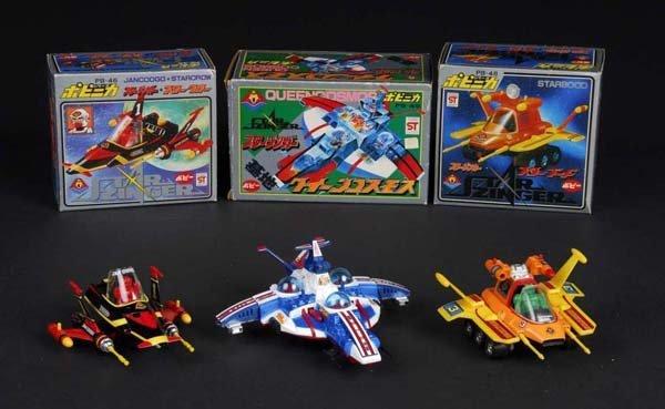 434: Lot of 3: Popinika toys from Starzinger.