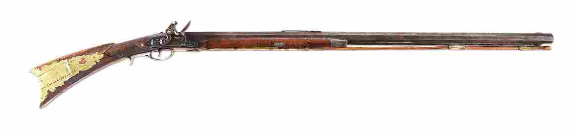 (A) IMPORTANT AND HISTORIC KENTUCKY LONGRIFLE PRESENTED