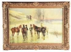 JAN VAN CHELMINSKI (POLISH, 1851 - 1925)