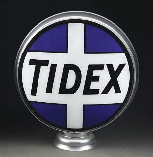 "TIDEX GASOLINE COMPLETE 15"" GLOBE ON ORIGINAL LOW"