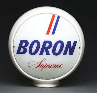 """BORON SUPREME GASOLINE COMPLETE 13.5"""" GLOBE ON WIDE"""
