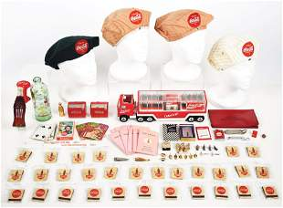 LARGE LOT OF COCA-COLA ITEMS.