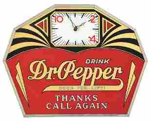 WONDERFUL AND EXTREMELY RARE DR PEPPER ADVERTISING