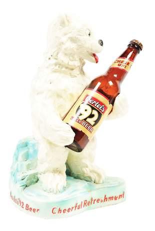OERTELS '92 LAGER BEAR.