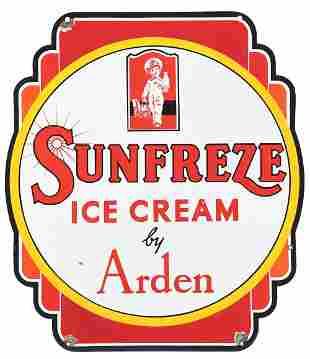 SUNFREEZE ICE CREAM BY ARDEN DOUBLE-SIDED PORCELAIN