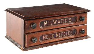VERY SMALL SIZE MILWARDS AND HELIX NEEDLE CASE.