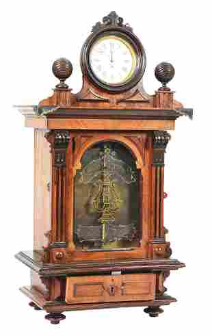 """COIN-OPERATED SYMPHONION 11 - 7/8"""" MUSIC BOX WITH"""