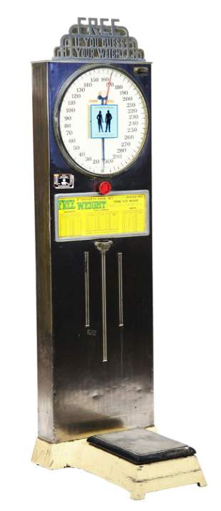 5¢ GUESS YOUR WEIGHT SCALE.