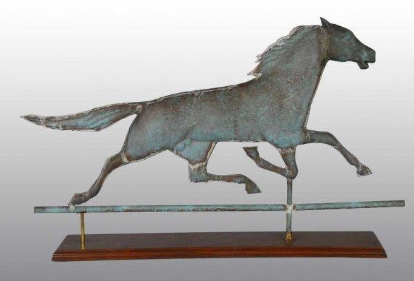 17: Running Horse Weather Vane.