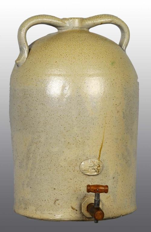 19: Large Stoneware Crock Jug.