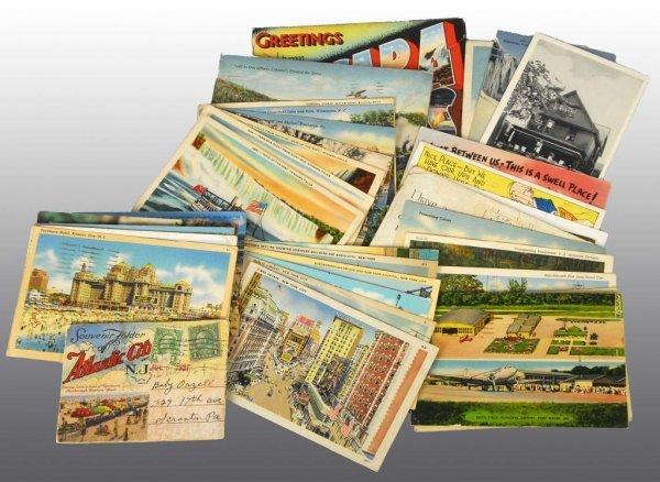 23: Lot of 35: Postcards.