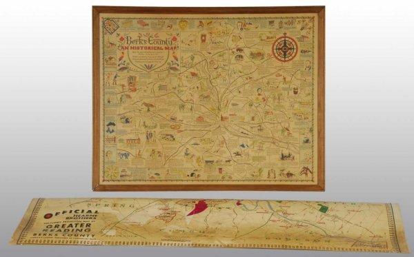 24: Lot of 2: Berks County Maps.