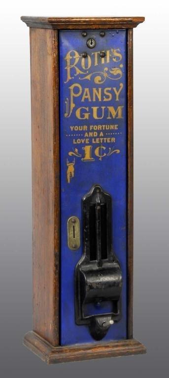 364: Roths Pansy Gum Dispenser.