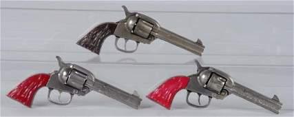 756: Lot of 3: Kilgore Bighorn Cap Guns.