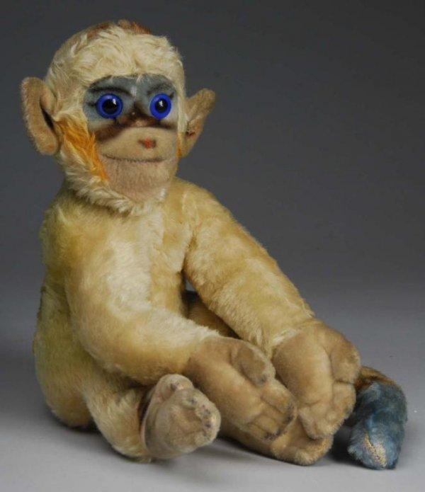 1003: Large Steiff Mohair Monkey.