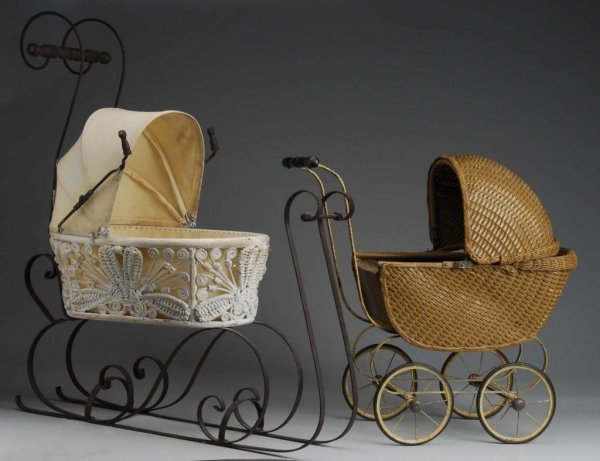 1010: Doll Carriage and Doll Sleigh.