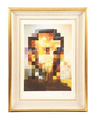 SALVADOR DALI (FRENCH 1904-1989)- LINCOLN IN