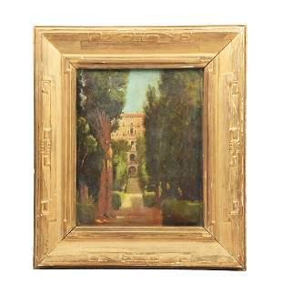 WALTER RUSSELL (AMERICAN, 1871 - 1963) VILLA DE ESTE