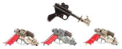 LOT OF 4: SPACE GUNS.