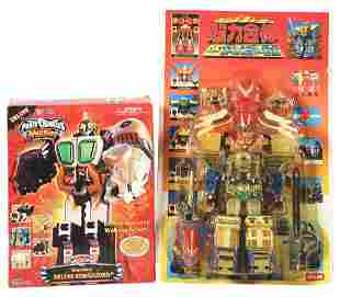 LOT OF 2: MORE CONTEMPORARY POWER RANGERS TRANSFORMABLE