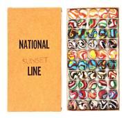 M. GROPPE & SON NATIONAL SUNSET LINE NO. 2 BOX SET.