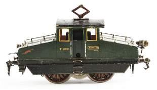 GERMAN MARKLIN I GAUGE STEEPLE CAB TRAIN ENGINE.