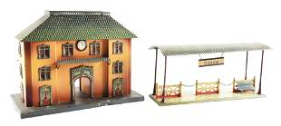 GERMAN KBN TRAIN STATION.