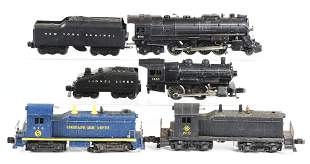 LOT OF 6: MOSTLY LIONEL PRE AND POST-WAR STEAM