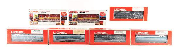 LOT OF 7: VARIOUS CONTEMPORARY LIONEL ENGINES.
