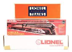 LOT OF 3: CONTEMPORARY LIONEL ENGINES.