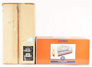 LOT OF 2: CONTEMPORARY LIONEL AND T-REPRODUCTIONS TRAIN