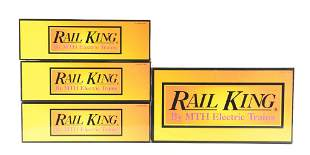 LOT OF 4: MTH TRAINS.