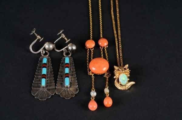 24: Lot of 4: Jewelry Pieces.