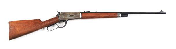 (C) WINCHESTER MODEL 1886 LEVER ACTION RIFLE (1903).