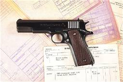 (C) RARE COLT ENGINEERING MODEL 1911A1 PISTOL WITH