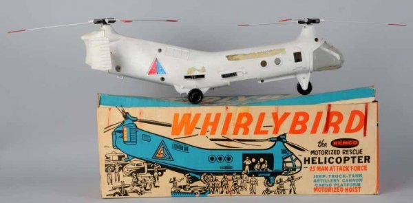 300: Remco Battery-Operated Whirly Bird Helicopter.