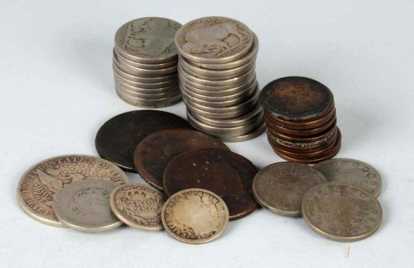 7: Lot of US Coins.