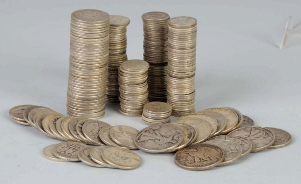 9: Lot of Silver Coins.