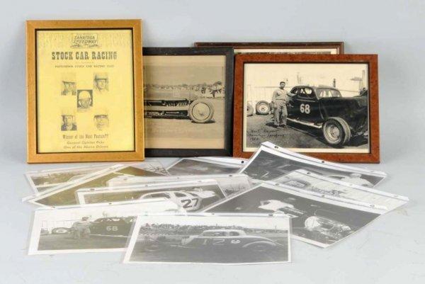 16: Lot of Saratoga Speedway Racing Photos.