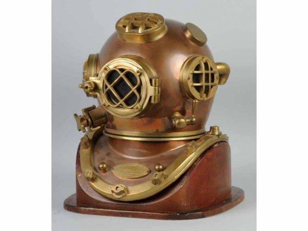 17: Brass Diving Helmet.