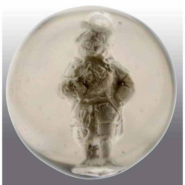 19: Medieval Boy Sulfide Marble.