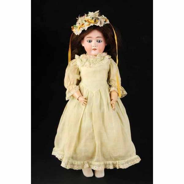 901: Bisque Head Max Handwerck Child Doll.