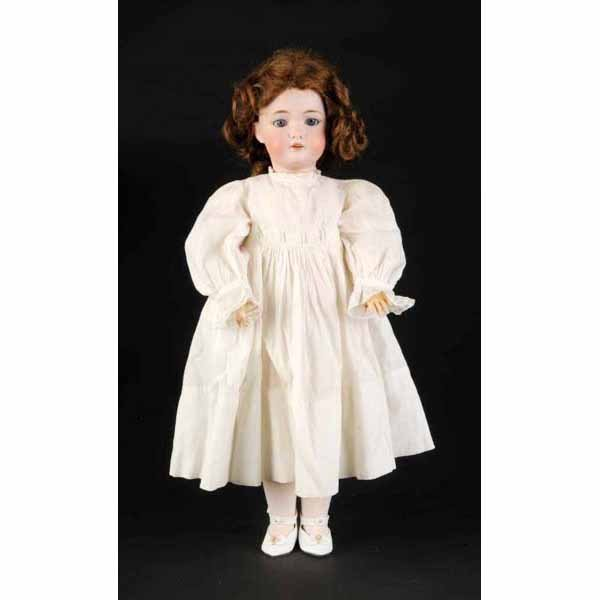 904: Pretty C.M. Bergmann Bisque Doll.