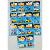 1528 Lot of 14 Mattel Hot Wheels Workhorses Vehicles