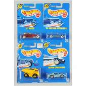 1567 Lot of 10 Mattel Hot Wheels Blue Card Vehicles