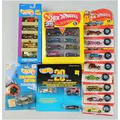 1656 Lot of 17 Asstd Mattel Hot Wheels Vehicles