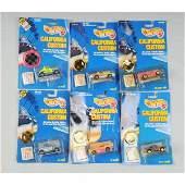 1694: Lot of 25: Mattel Hot Wheels California Customs.