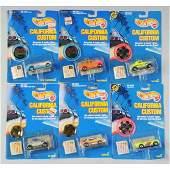 1709 Lot of Mattel Hot Wheels California Custom Cars